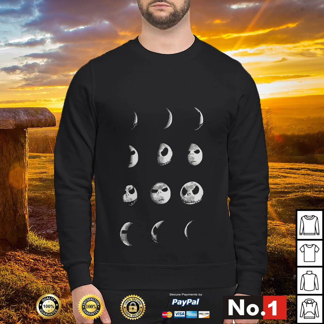 The Nightmare Before Christmas Jack Moon sweater