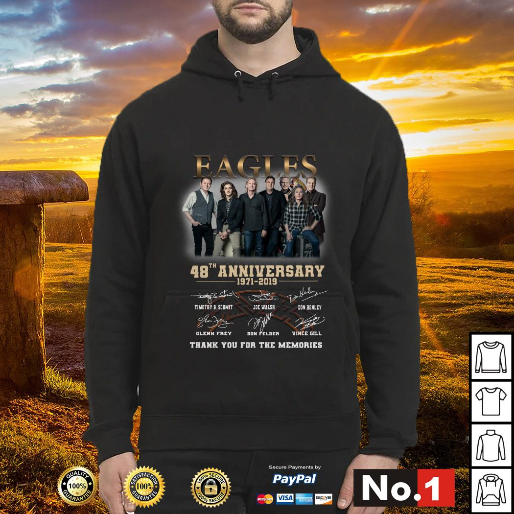 gles 48th anniversary 1971-2019 thank you for the memories hoodie