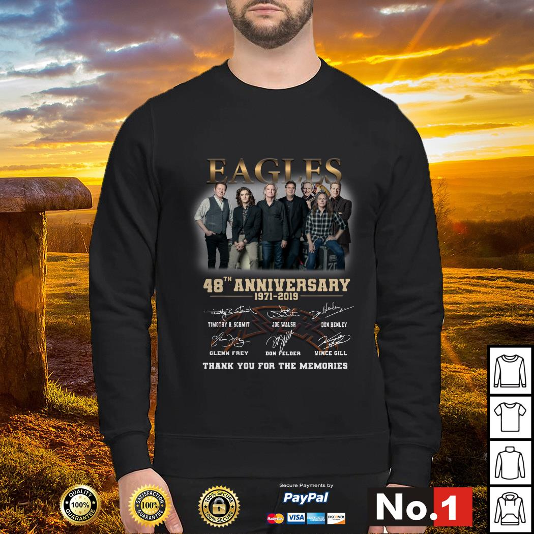 gles 48th anniversary 1971-2019 thank you for the memories sweater