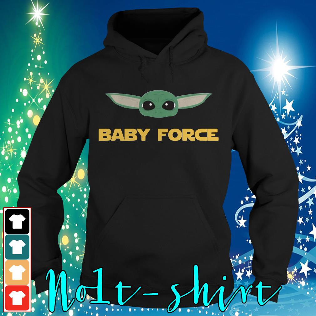 Baby Yoda baby force Hoodie