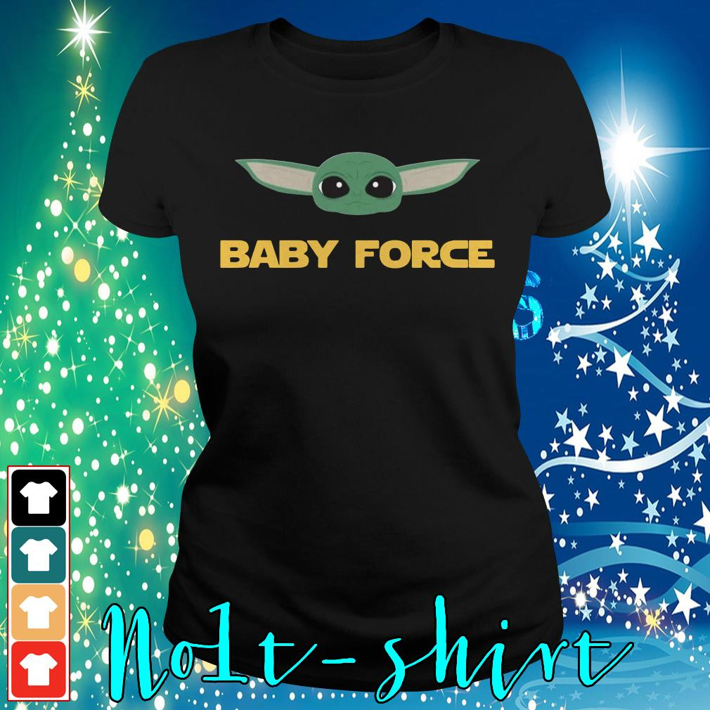 Baby Yoda baby force Ladies tee