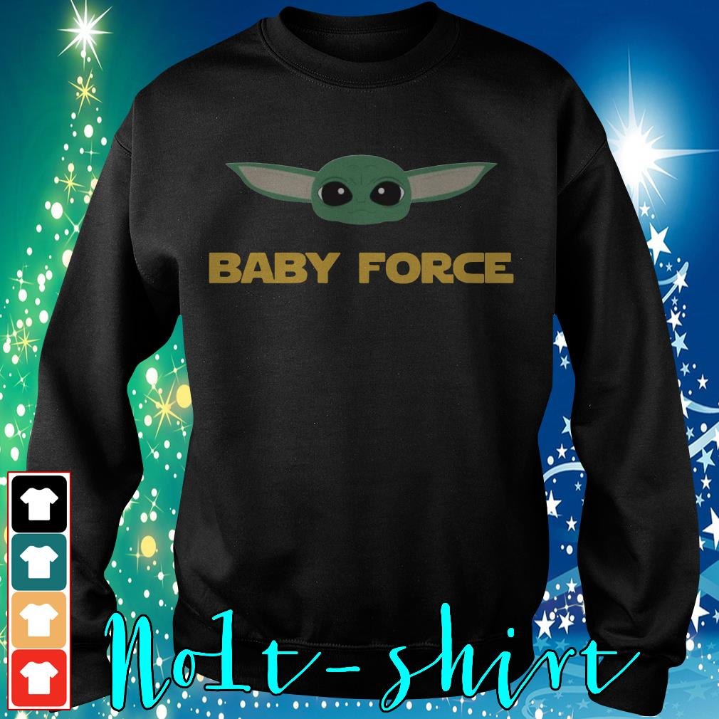 Baby Yoda baby force Sweater