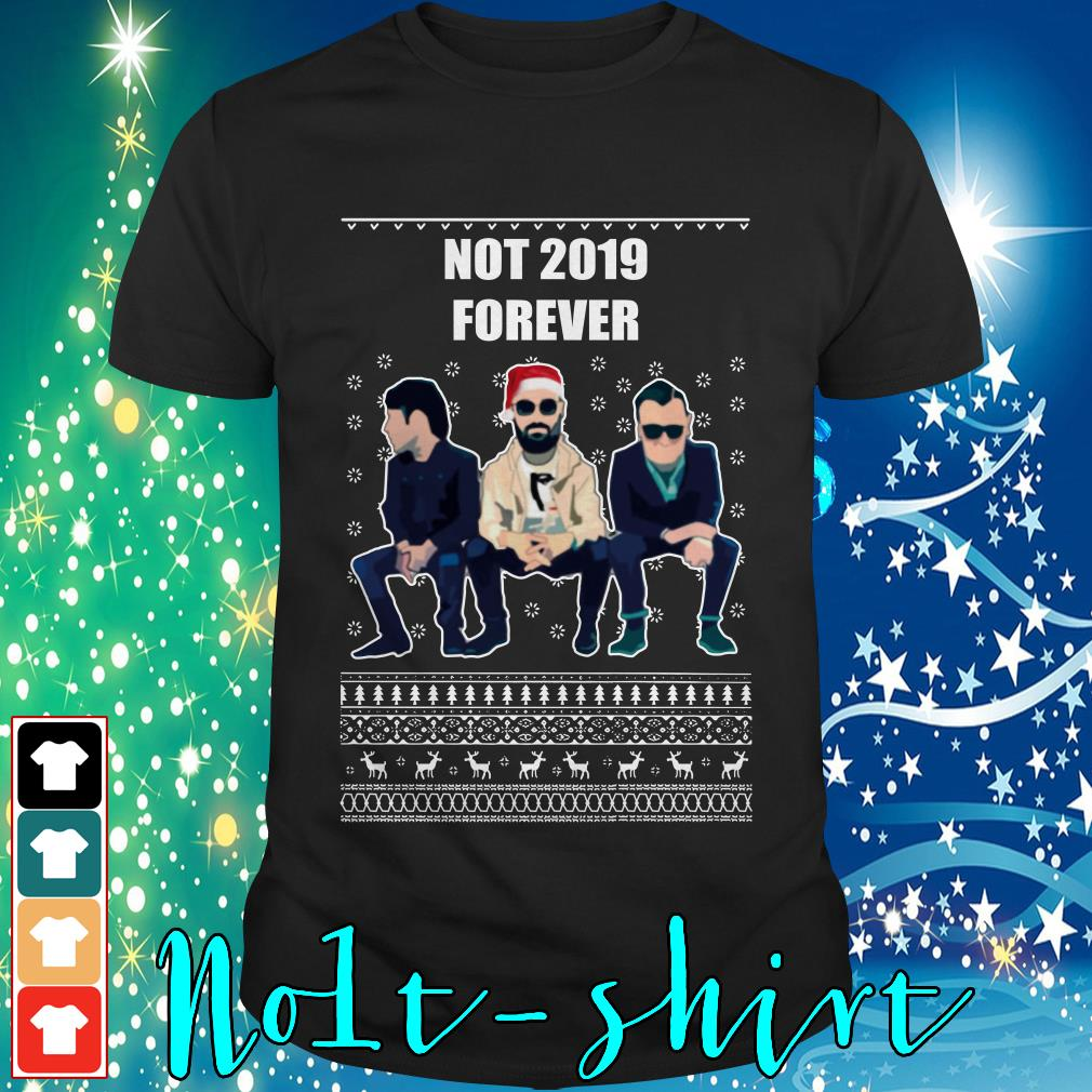 The Courteeners not 2019 forever ugly Christmas shirt, sweater