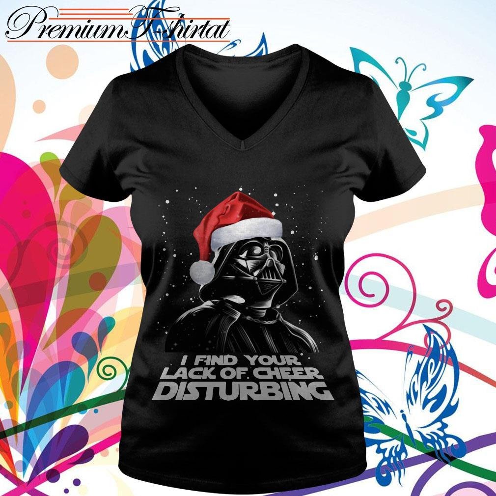 Darth Vader I find your lack of cheer disturbing shirt