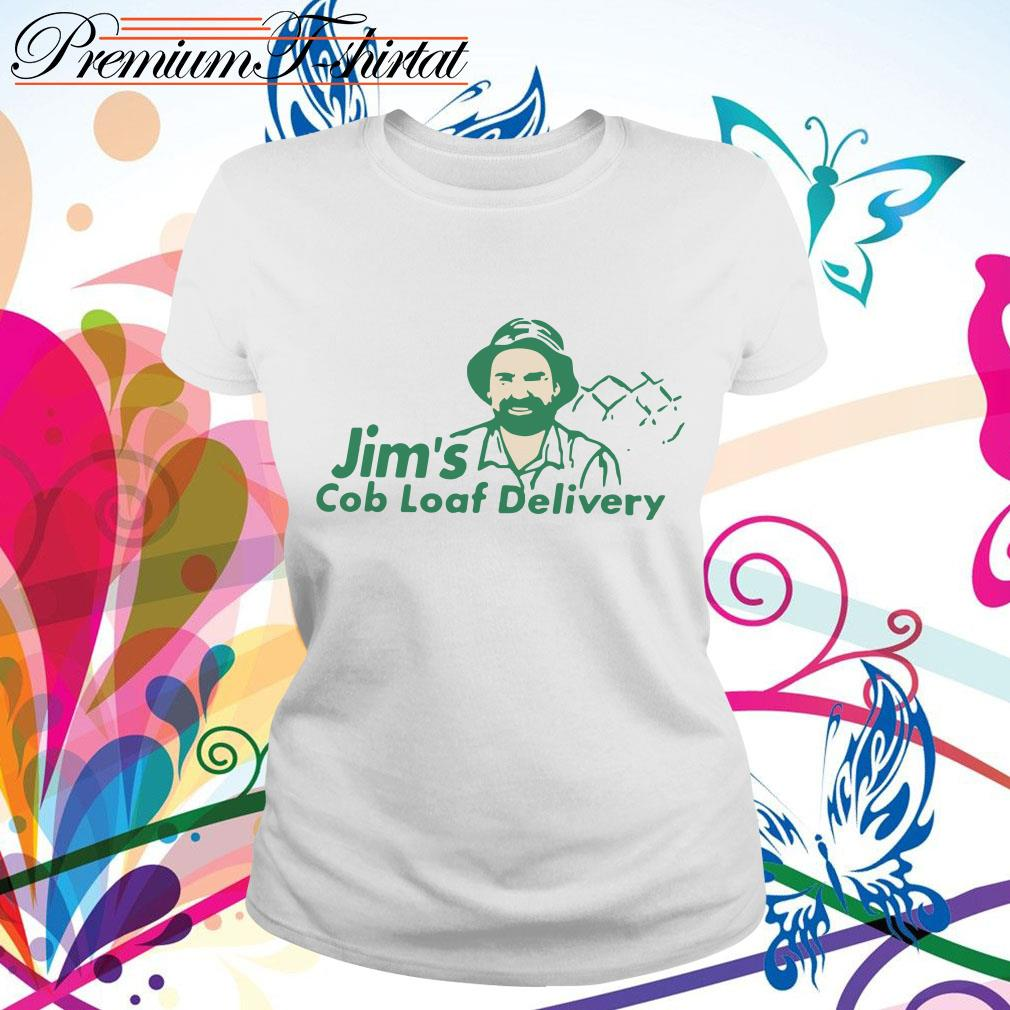 Jim's cob loaf delivery shirt