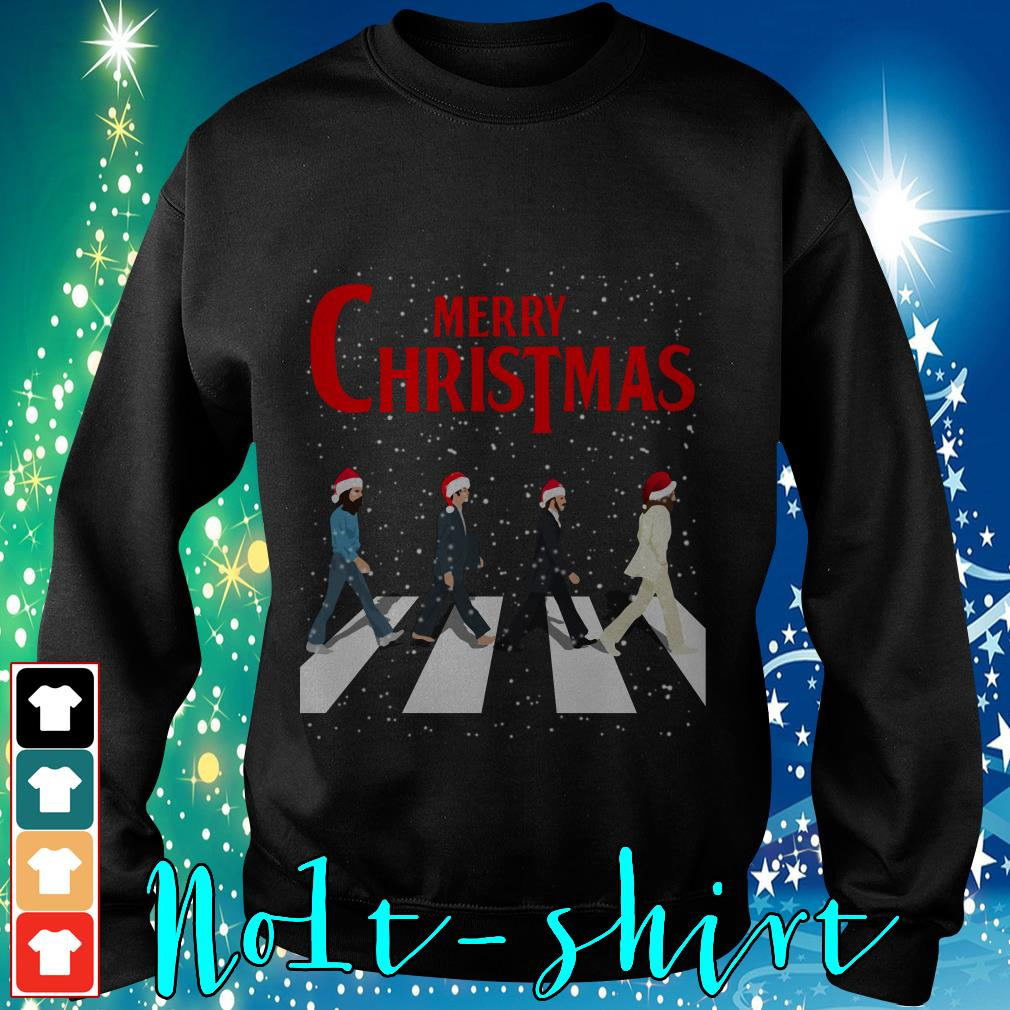 The Beatles Abbey Road Merry Christmas Sweater