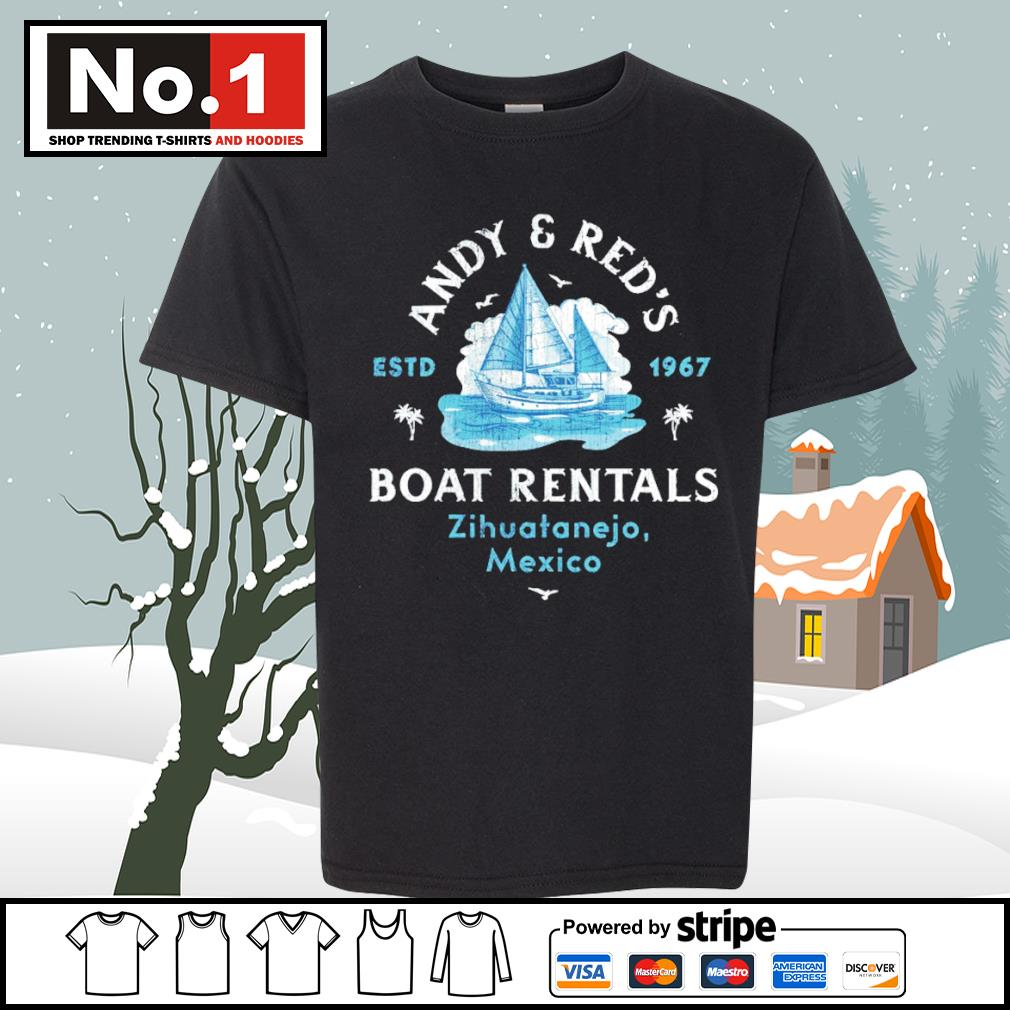 Andy and Red's est 1967 Boat Rentals Zihuatanejo Mexico s youth-tee
