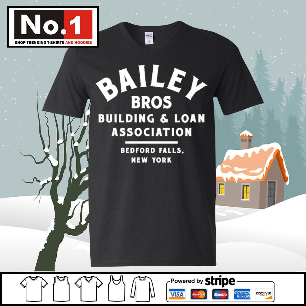 Bailey Bros building and loan association bedford falls New York s ladies-tee
