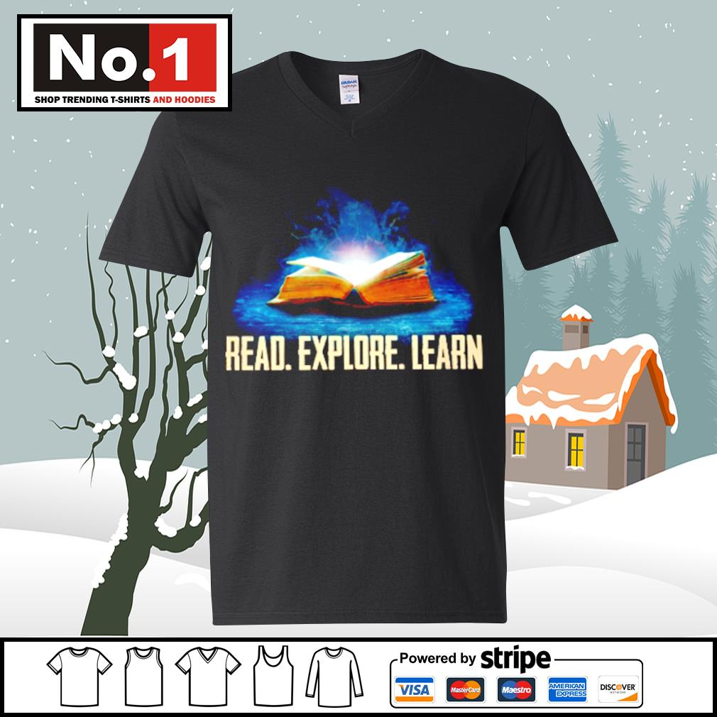 Book read explore learn s ladies-tee