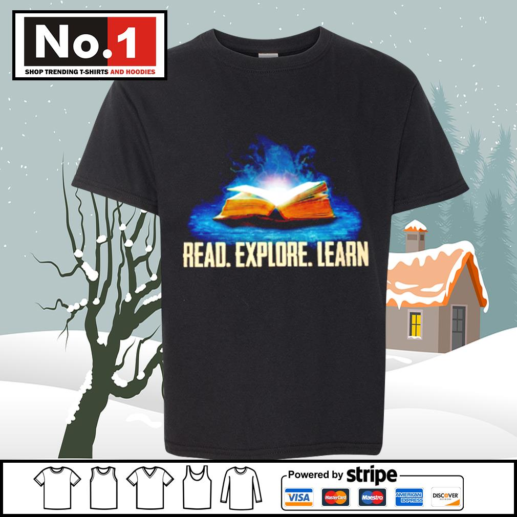 Book read explore learn s youth-tee
