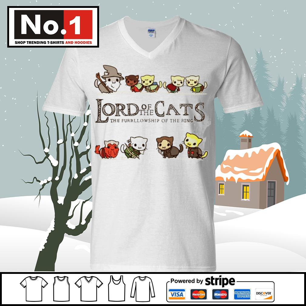 Lord of the Cats the fellowship of the ring s ladies-tee