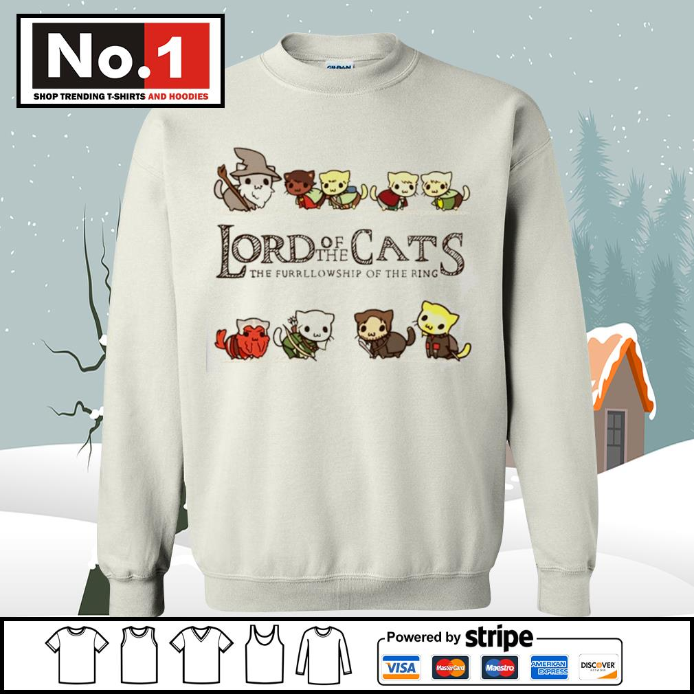 Lord of the Cats the fellowship of the ring s sweater