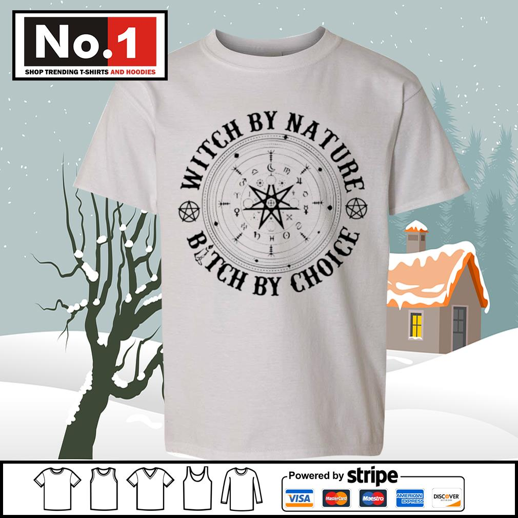 Witch by nature bitch by choice s youth-tee