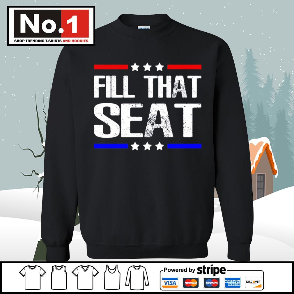 Fill that seat s sweater