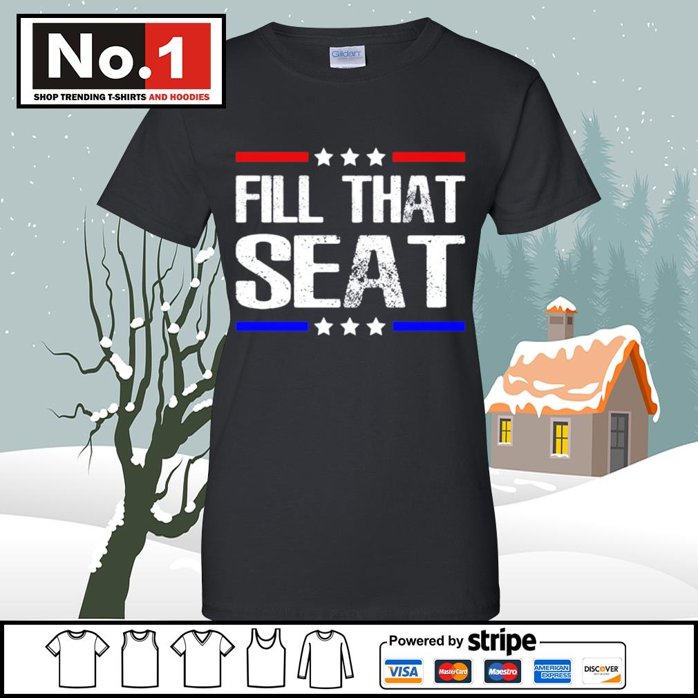 Fill that seat s v-neck-t-shirt
