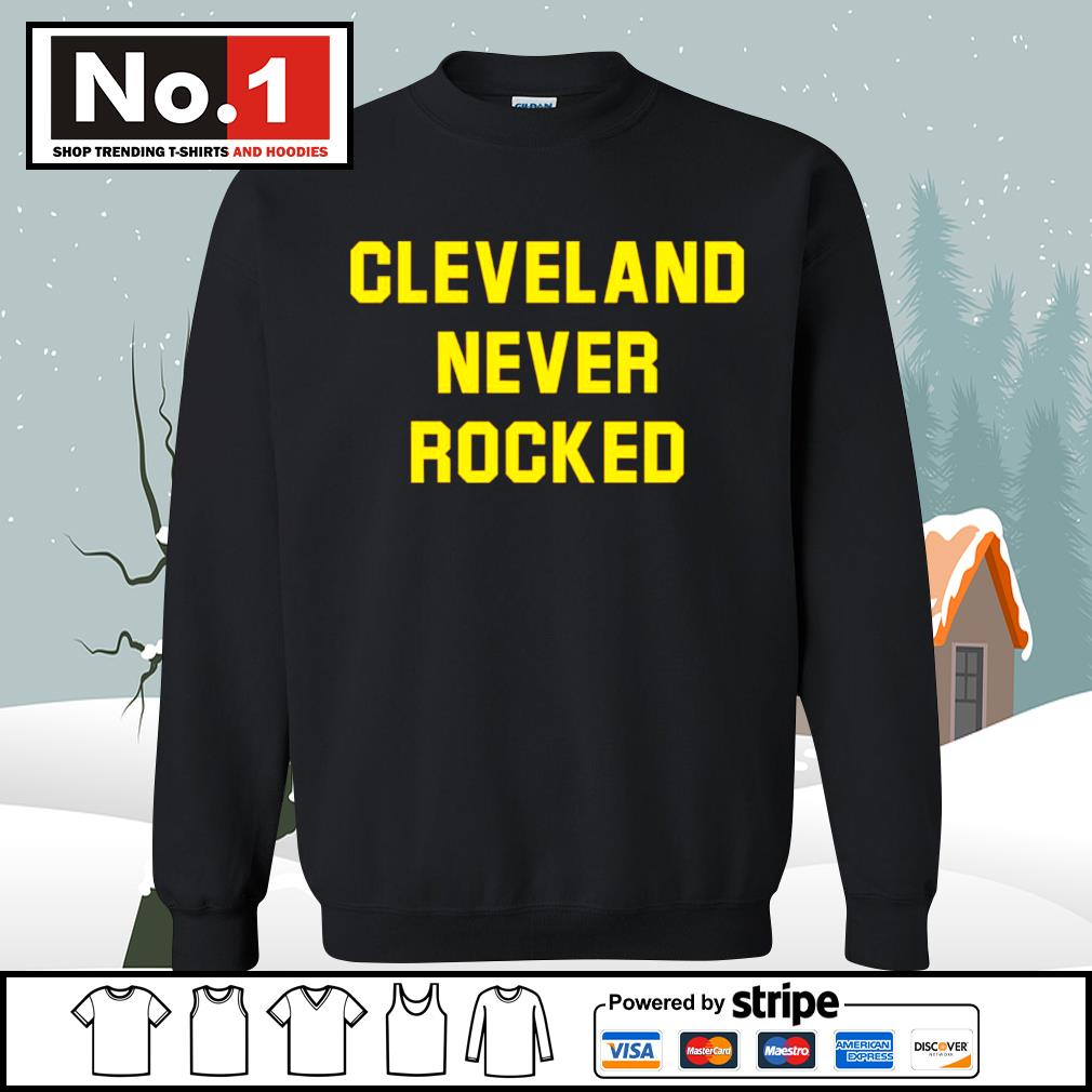 Cleveland never rocked s sweater