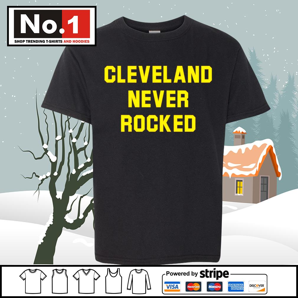 Cleveland never rocked s youth-tee