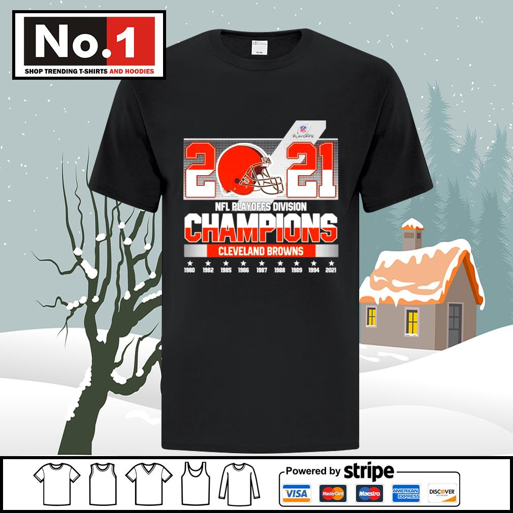 2021 NFL Playoffs Division Champions Cleveland Browns shirt
