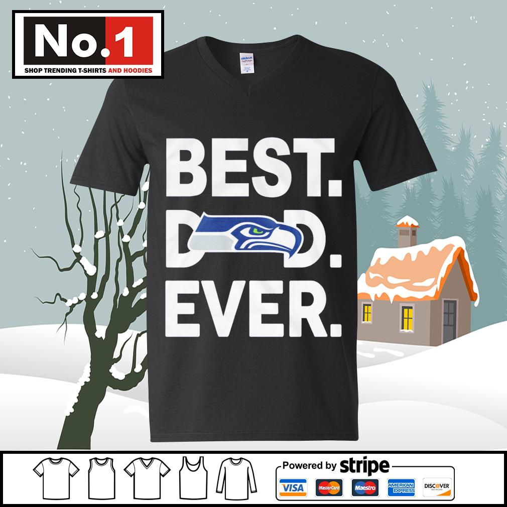 NFC West division champions best dad ever Seattle Seahawks Football Team s ladies-tee