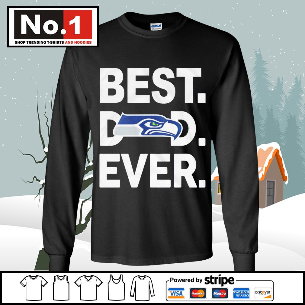NFC West division champions best dad ever Seattle Seahawks Football Team s longsleeve-tee