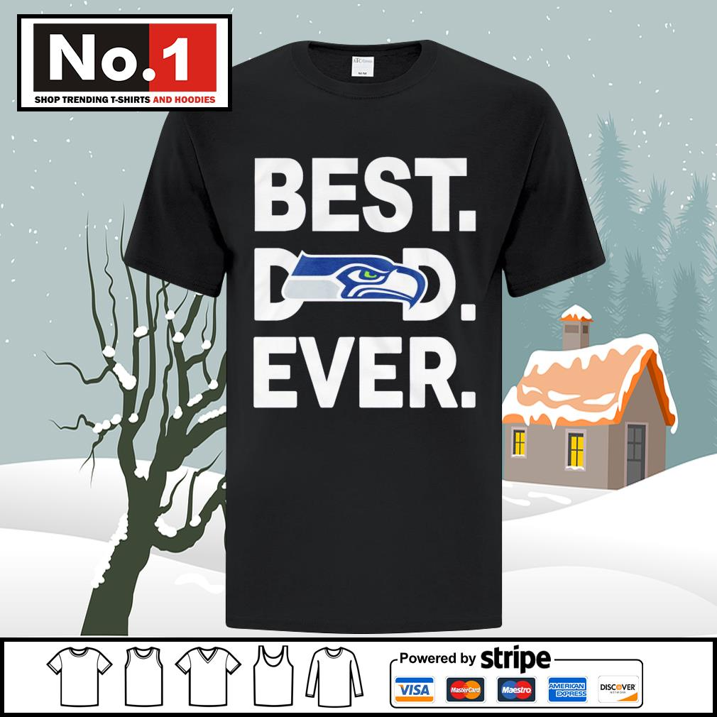 NFC West division champions best dad ever Seattle Seahawks Football Team shirt