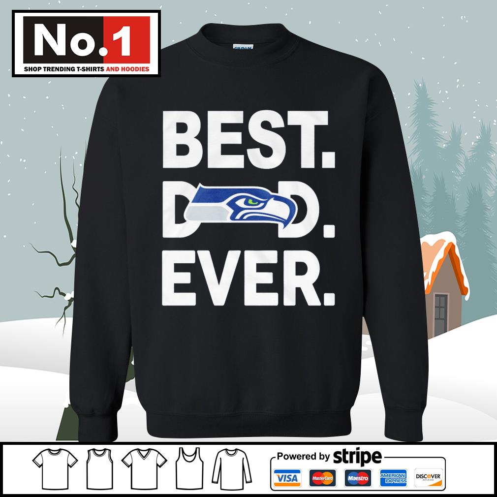 NFC West division champions best dad ever Seattle Seahawks Football Team s sweater