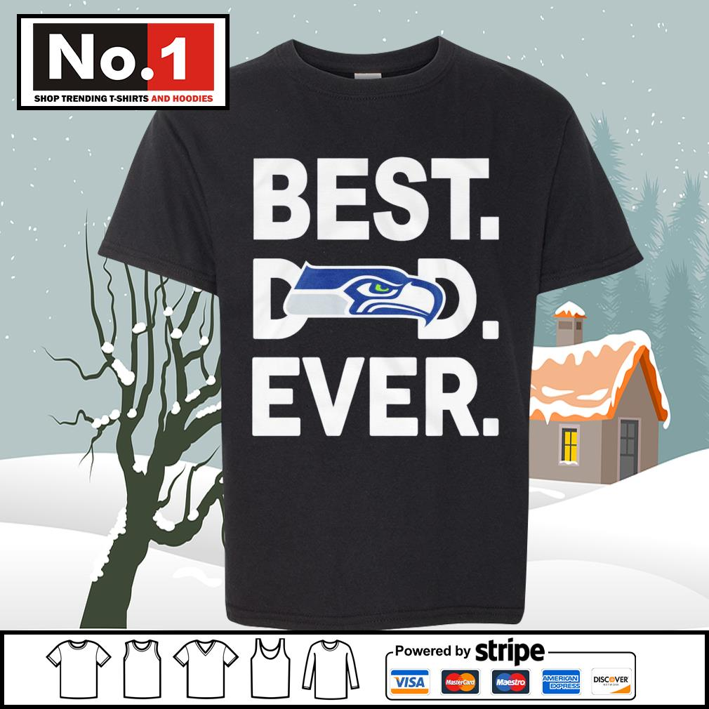 NFC West division champions best dad ever Seattle Seahawks Football Team s youth-tee