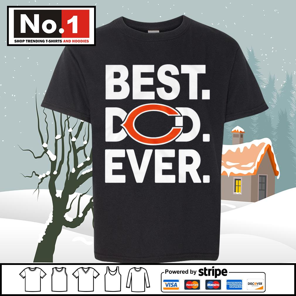 NFL best dad ever Chicago Bears Football Team s youth-tee