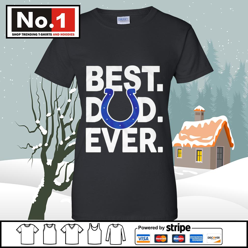 NFL best dad ever Indianapolis Colts Football Team s v-neck-t-shirt
