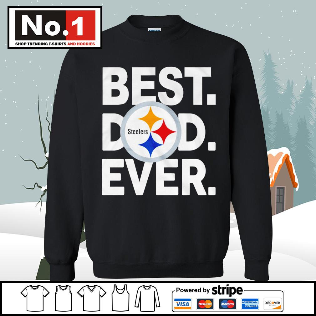 NFL best dad ever Pittsburgh Steelers Football Team s sweater