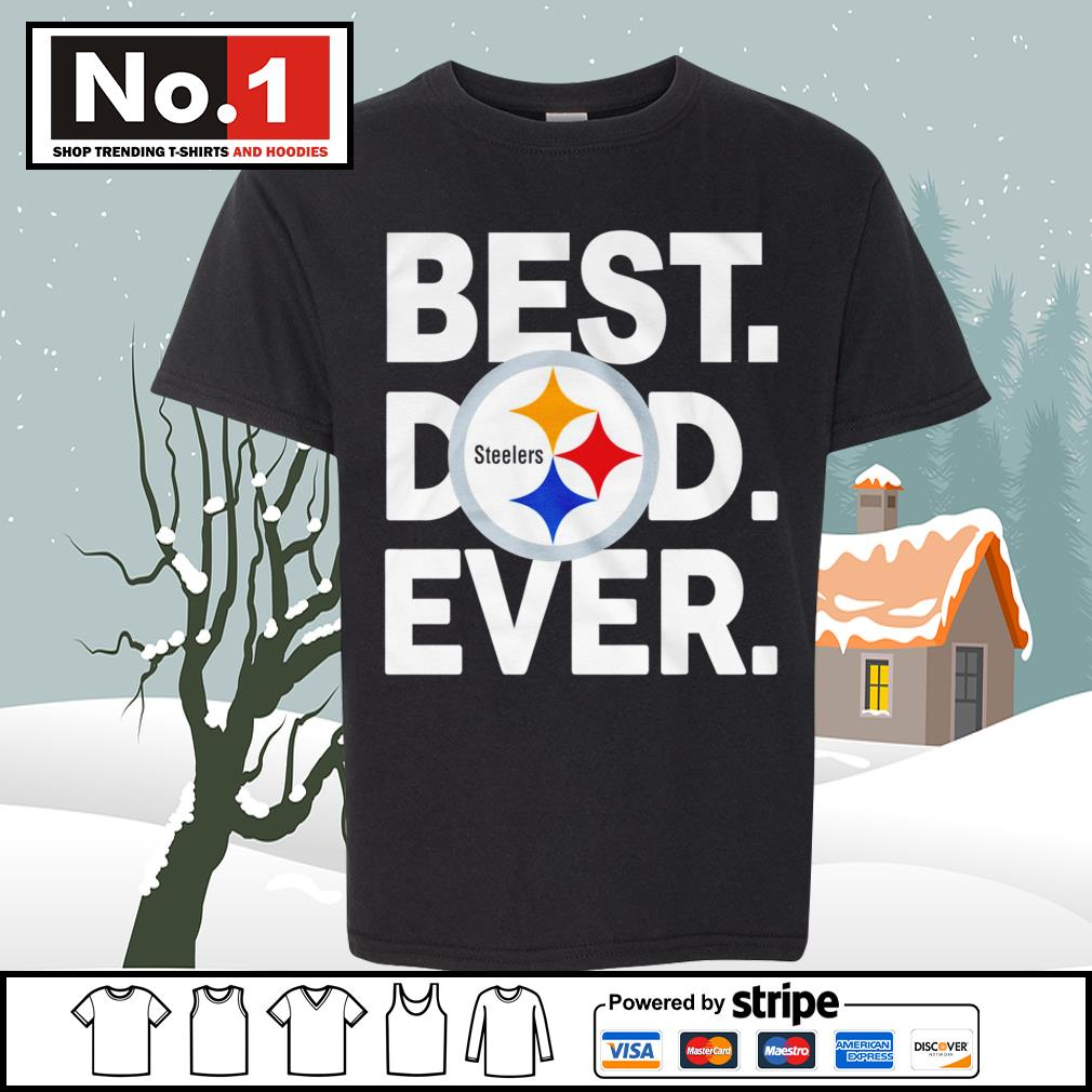 NFL best dad ever Pittsburgh Steelers Football Team s youth-tee