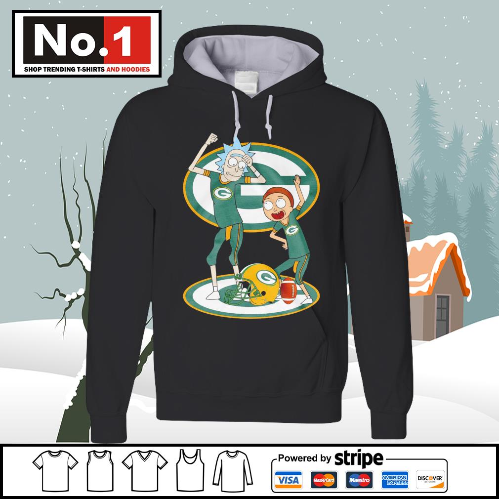Rick and Morty Green Bay Packers s hoodie