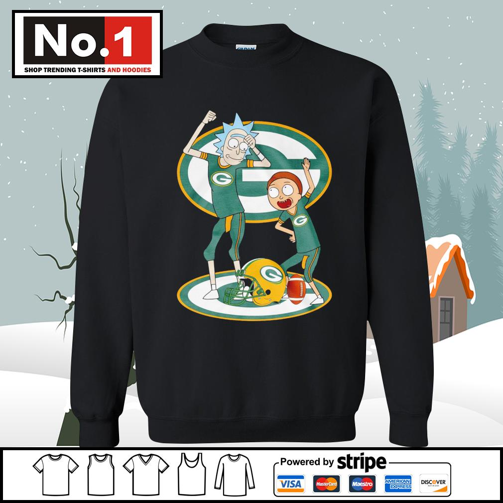 Rick and Morty Green Bay Packers s sweater