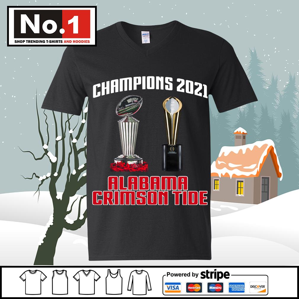 Rose Bowl cup National Championship cup Champions 2021 Alabama Crimson Tide 52 24 Ohio State s ladies-tee