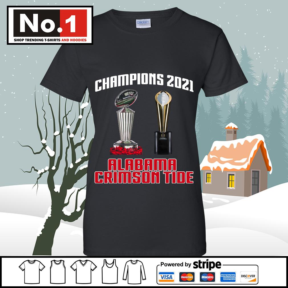 Rose Bowl cup National Championship cup Champions 2021 Alabama Crimson Tide 52 24 Ohio State s v-neck-t-shirt